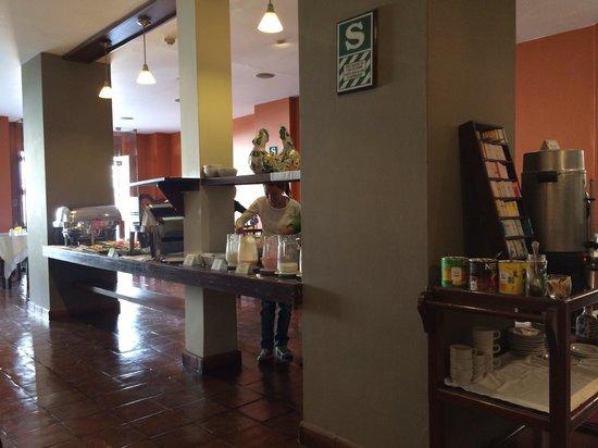 El Dorado San Agustin: Desayuno