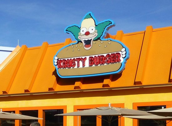 Krusty Burger Picture Of Krusty Burger Orlando Tripadvisor