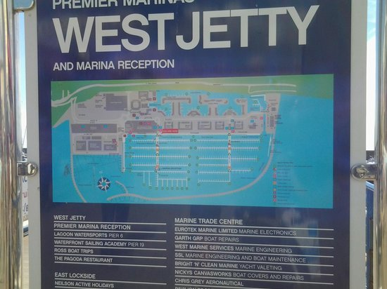 Brighton Marina: план