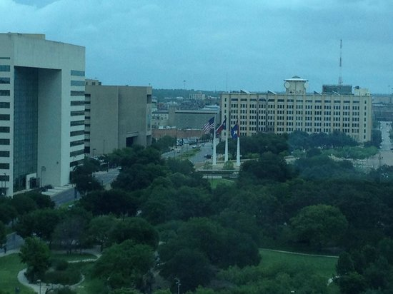 Omni Dallas Hotel: View From Our Room
