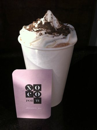 Xoco Por Ti - Chocolate Bar: chocolate Frappe 77% - La Mer