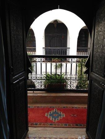 Riad Al Kadar : aprendo la porta della nostra camera...