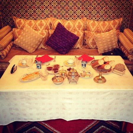 """Riad Al Kadar : la colazione da """"Sultani""""!"""