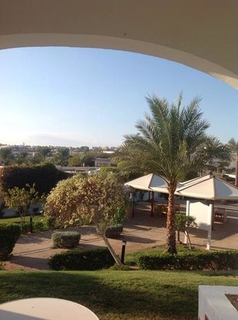 Hilton Sharm Dreams Resort : view from room 1032
