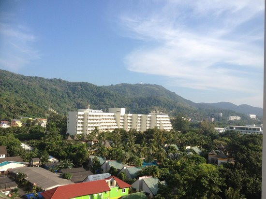 Waterfront Suites Phuket by Centara: Hill side view from balcony 2 - apartment 9A