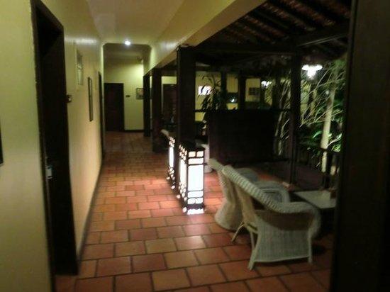 Pavillon Indochine Hotel: verands