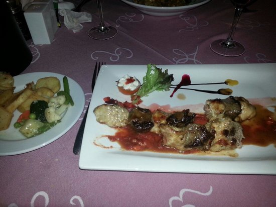Coeur de Filet : Steak and chicken skewers- perfect and reasonably priced!