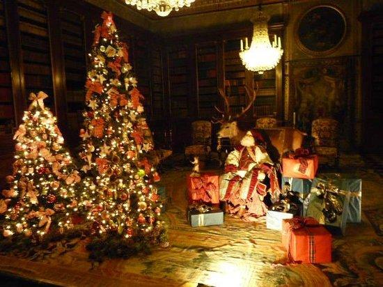 Chateau de Vaux-le-Vicomte: le Père Noel se repose