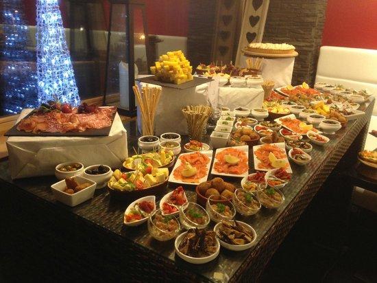 Winter Lounge : buffet st sylvestre