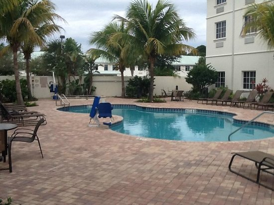 Hilton Garden Inn at PGA Village / Port St. Lucie: Pool Area