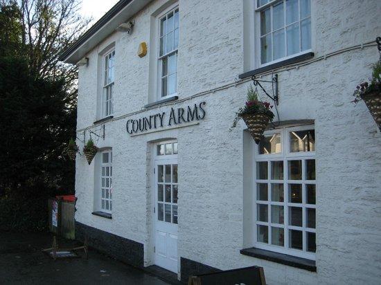 The County Arms : ресторан при гостинице