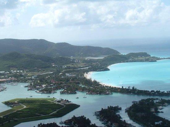 Caribbean Helicopters: Antigua Coastline