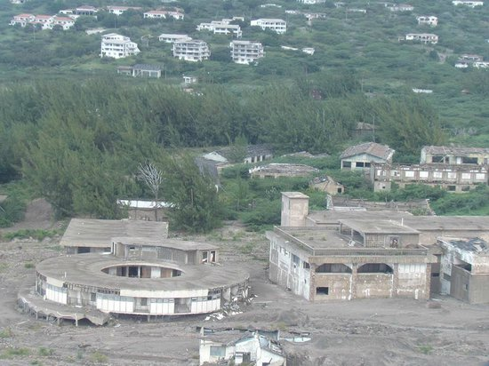 Caribbean Helicopters: Plymouth Devastation