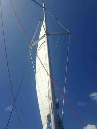 Nica Sail and Surf: Sail shot