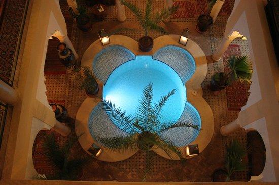 Riad Lena & SPA: La piscina dalla terrazza
