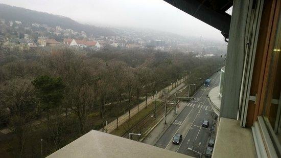Belvedere Hotel: Panorama dalla finestra della camera