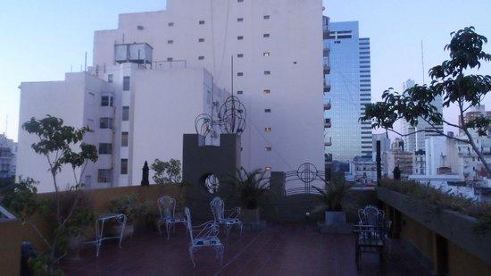 Viejo Telmo: vista do terraço