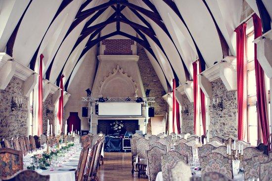 Chateau de la Colaissiere : La salle de réception