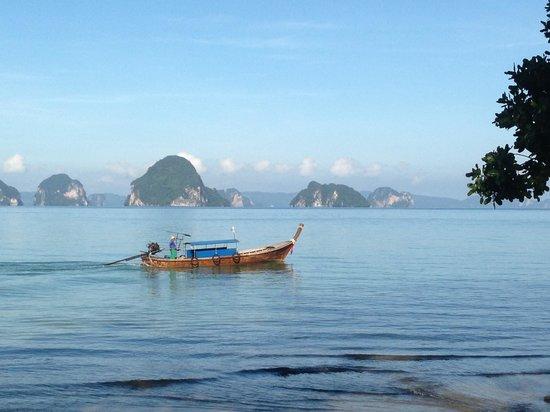 The Tubkaak Krabi Boutique Resort: vue de la plage