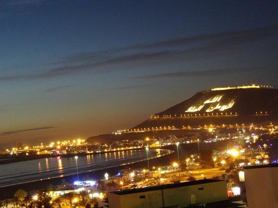 Anezi Tower Hotel & Apartments: Piękne zachody słońca. Widok na Kazbę.