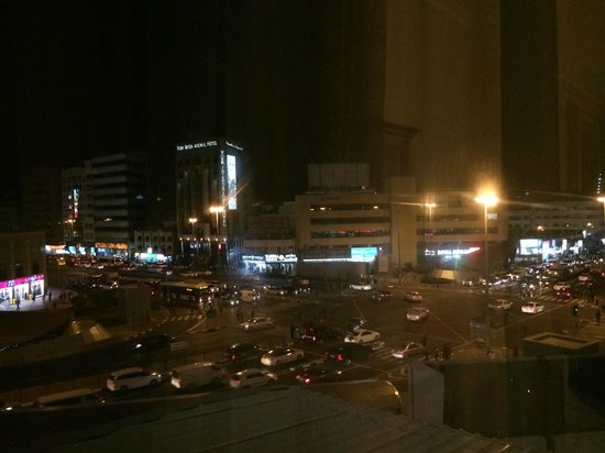 Regal Plaza Hotel Dubai: view from the room