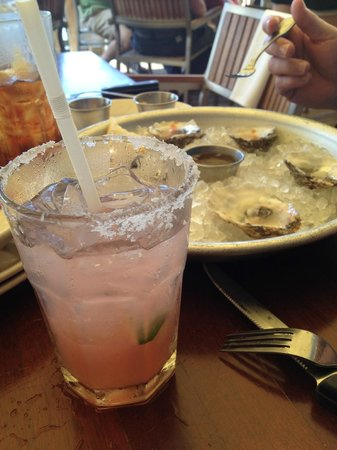 Coconuts : Oysters and Watermelon Margarita