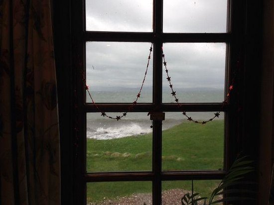 Kintyre Cottages: View from living room