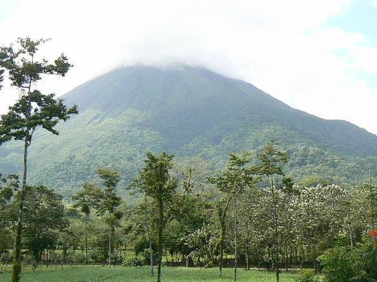 Go Tours Costa Rica - Day Tours : Arenal....cloudy..