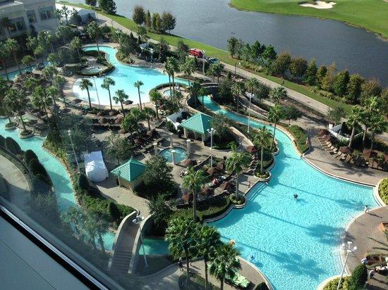 Hilton Orlando Bonnet Creek: fantastic outside area