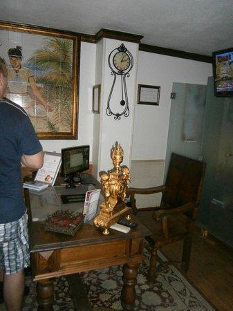 Dom Manuel Hotel: Reception