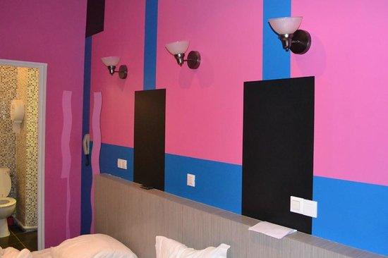 Hotel Interlaken: La camera ed i letti
