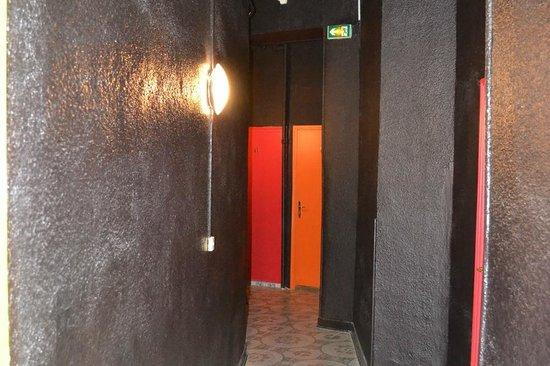 Hotel Interlaken : Corridoi di accesso alle camere
