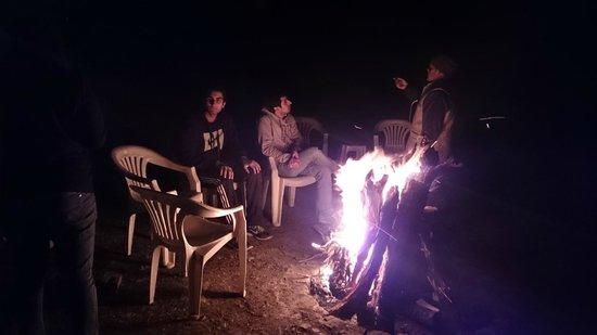 Enjoying Bonfire