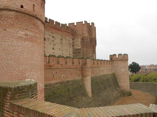 Castillo de la Mota: Exterior