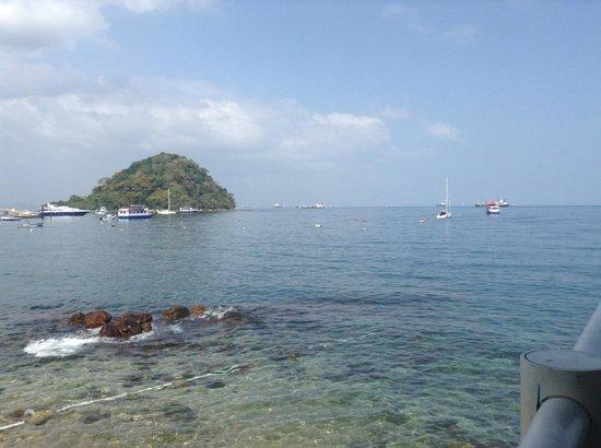 Agua Sol Villa: Esta es la vista desde la terraza