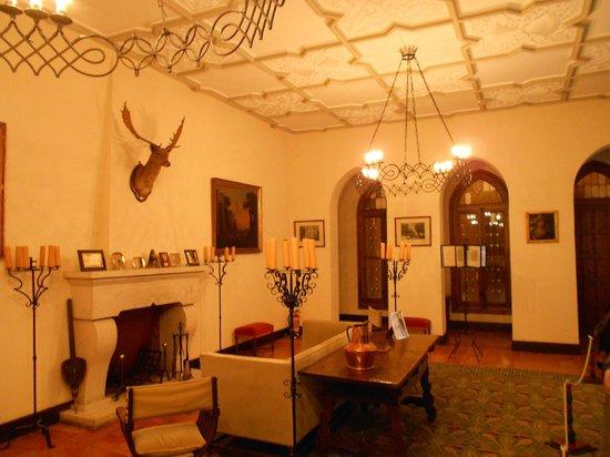Castillo de la Mota: Salón
