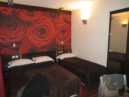 Hotel du Parc : chambre 1