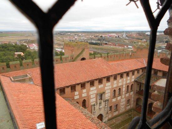 Castillo de la Mota: Patio interior