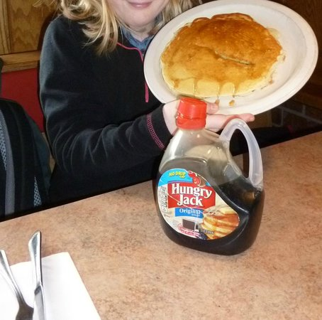Route 6 Cafe: We love the pancakes...