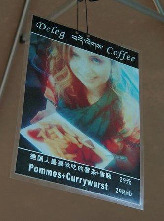 Deleg Coffee: Curry Wurst in Tibet