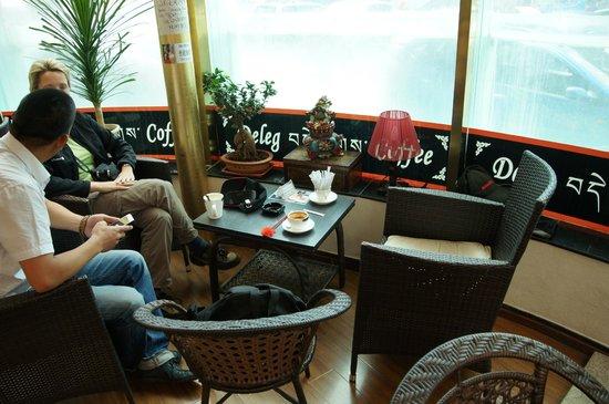 Deleg Coffee: Ambiente