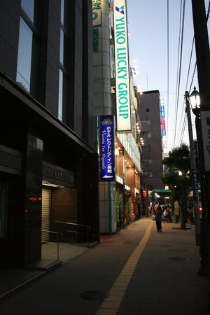 Victoria Inn Nagasaki: Street Entrance