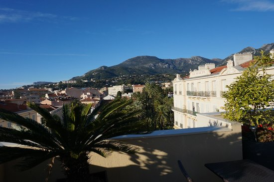 Quality Hotel Mediterranée: Solarium de l'hôtel (terrasse)
