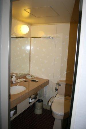 Victoria Inn Nagasaki: Bathroom