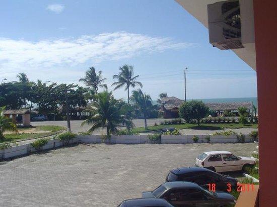 Boulevard da Praia Hotel: vista desde el star de nuestra habitación