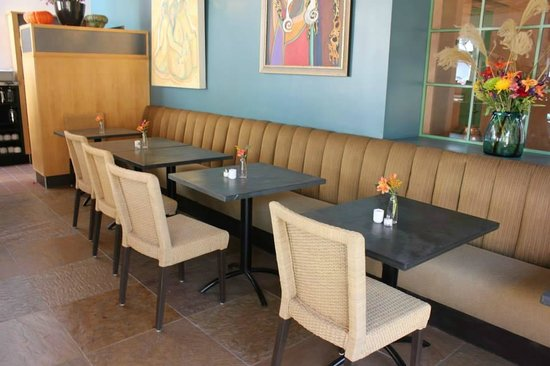Food for Ascension Cafe: Intimate Seating