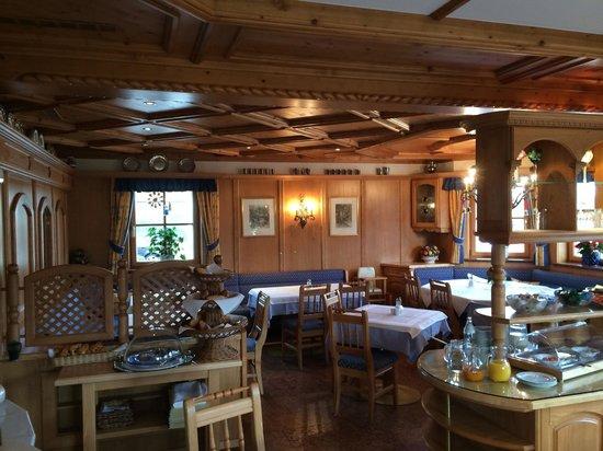 Hotel-Pension Bloberger Hof : Sala colazioni e cene