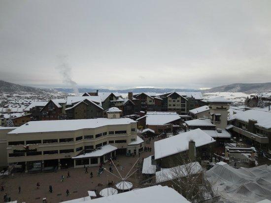 Sheraton Steamboat Resort: View from balcony