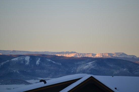 Sheraton Steamboat Resort Villas: sunrise - balcony