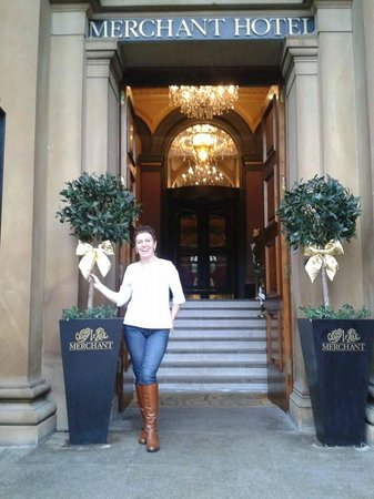 Merchant Hotel : Linda at The Merchant